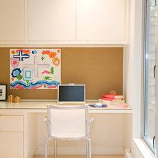 Contemporary Home Office by Riesco & Lapres Interior Design