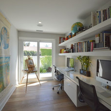 Midcentury Home Office by Jeannette Architects
