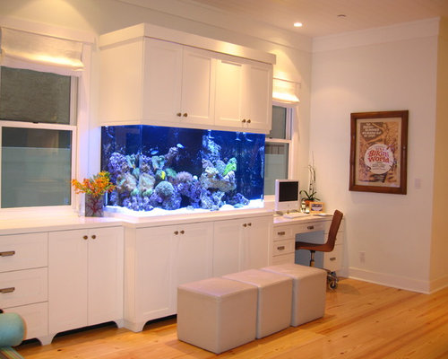 office fish. island style home office photo in orange county fish r