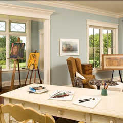 traditional home office by Avondale Custom Homes