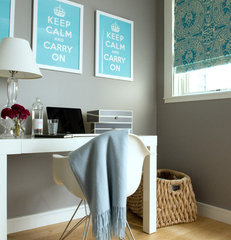 modern home office by Jute Interior Design