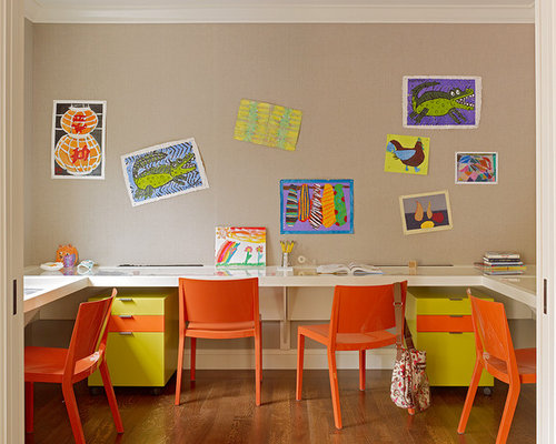 Kids study room ideas houzz Study room ideas