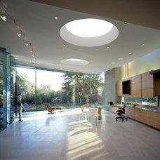 Modern Home Office by Mark Dziewulski Architect