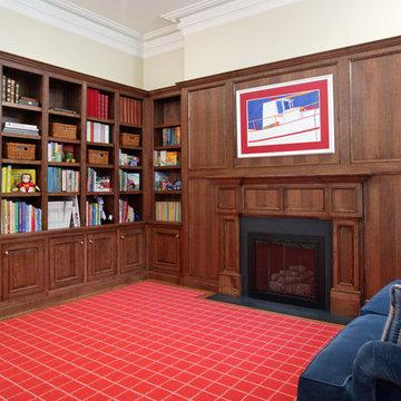 Marlborough Street 1:  Child's Library