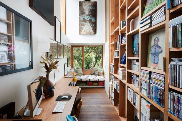 Eclectic Home Office by David Boyle Architect