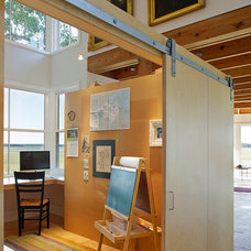 Modern Home Office by Estes/Twombly Architects, Inc.
