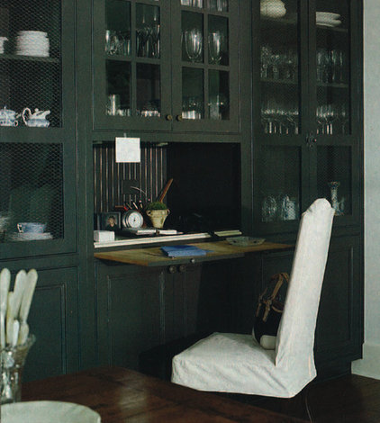 Traditional Home Office by Mary Evelyn Interiors
