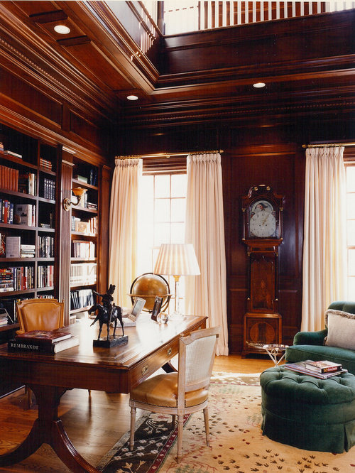 Traditional Library Houzz
