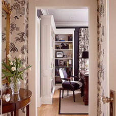 Traditional Home Office by Hyde Evans Design