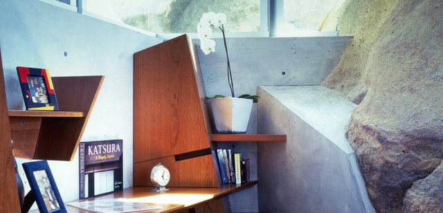Modern Home Office by Belzberg Architects