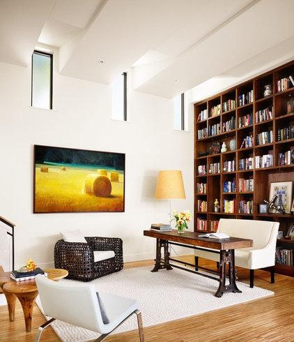 Modern Family Room by Risinger Homes
