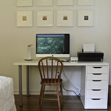 Midcentury Home Office by Sarah Greenman