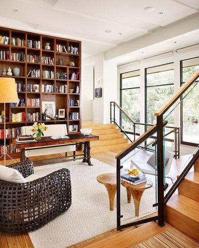 Modern Home Office by Hugh Jefferson Randolph Architects
