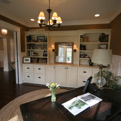 traditional home office by Matthies Builders