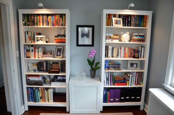 Contemporary Home Office by McBrien Interiors, Allied ASID