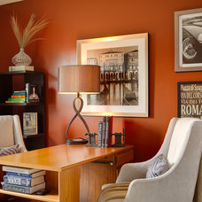 Contemporary Home Office by Chad Jackson Photo