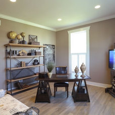 Traditional Home Office by Weaver Custom Homes