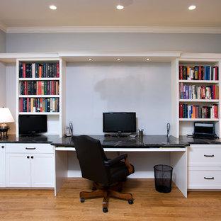 ウィチタのアジアンスタイルのおしゃれなホームオフィス・仕事部屋の写真