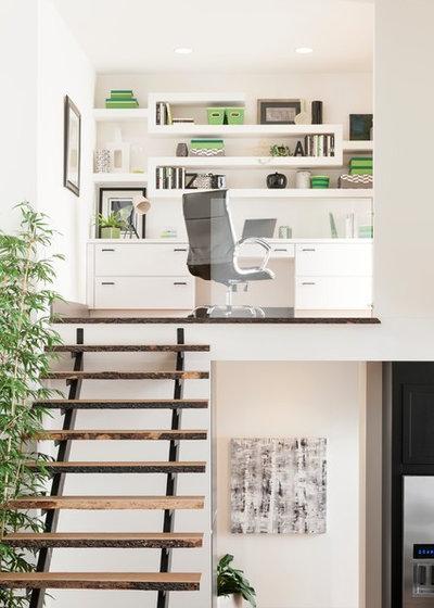 Contemporain Bureau à domicile by Kimberly Tomas Designs
