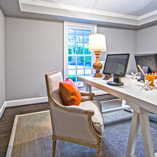 Contemporary Home Office by Andrea Braund Home Staging & Design