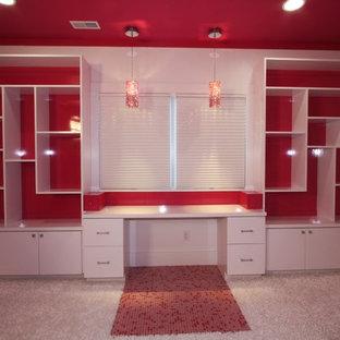 На фото: кабинет в современном стиле