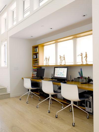 Modern Arbeitszimmer by Prentiss Balance Wickline Architects