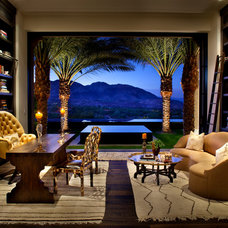 Mediterranean Home Office Mediterranean Home Office