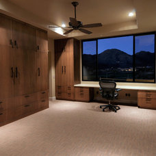 Traditional Home Office by Process Design Build, L.L.C.