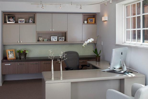 Modern Home Office by Ruth Livingston Studio