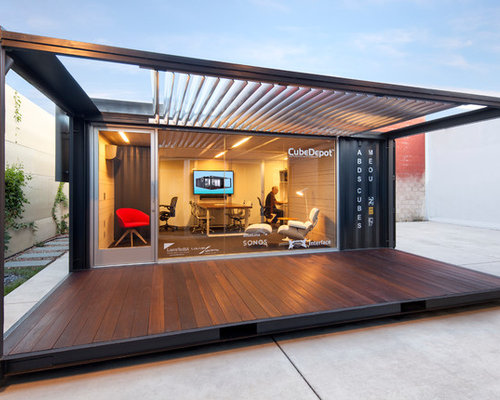 Me Ou Shipping Container Office