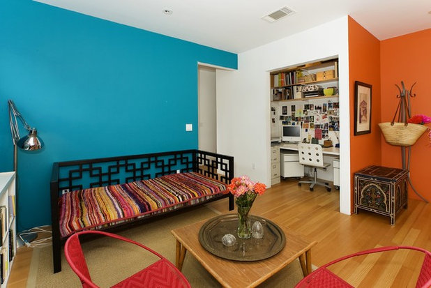 Eclectic Home Office by Studio Saha