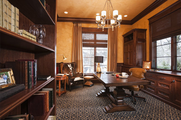 Traditional Home Office Merilane