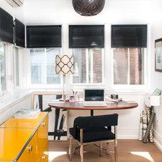 Modern Home Office by Stephani Buchman Photography