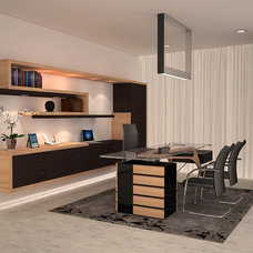Modern Home Office by Pepe Calderin Design- Modern Interior Design