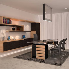 Contemporary Home Office by Pepe Calderin Design- Modern Interior Design