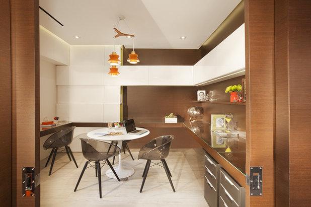 Contemporary Home Office by DKOR Interiors Inc.- Interior Designers Miami, FL