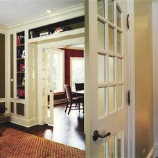 Traditional Home Office by Michael Menn Ltd.