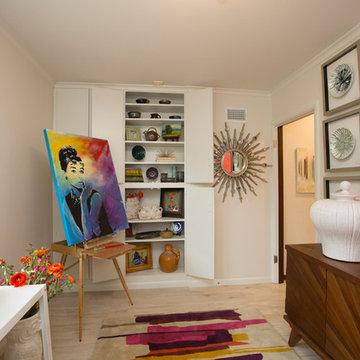 Mid Century Craft Room
