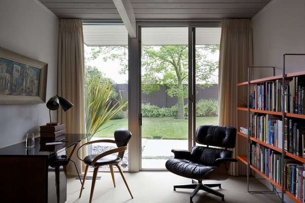 Modern Home Office by David Lauer Photography