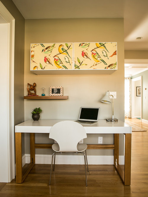 Transitional Providence Home Office Design Ideas Remodels Photos