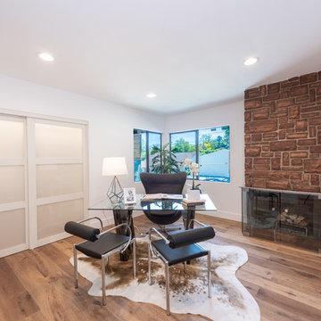 Mid Century Modern Office   Wrightwood Residency   Studio City, CA