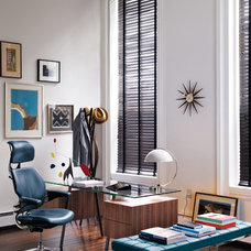 Midcentury Home Office by Design Within Reach
