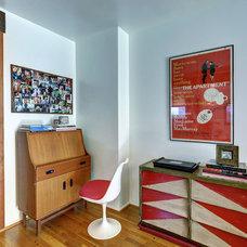 Midcentury Home Office by Natasha Jansz Design