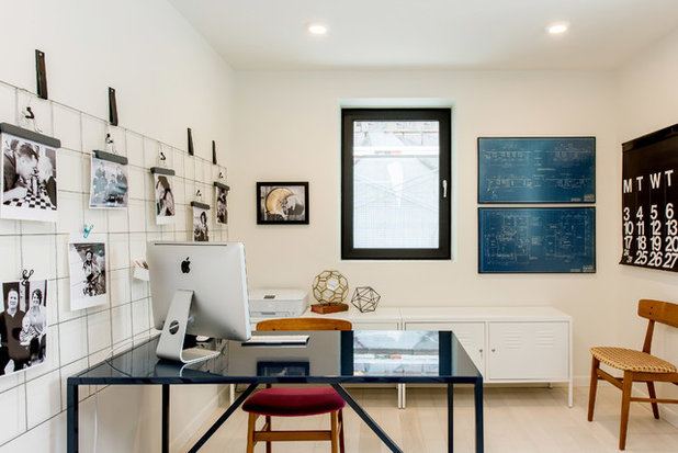 Industrial Home Office by Bella Vista Developments