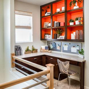 Идея дизайна: кабинет в стиле ретро