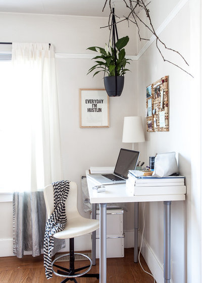 Modern Home Office by Kat Alves Photography