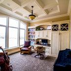Guest Room Desk Traditional Home Office Bridgeport