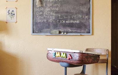 Vintage School Desks Go to the Head of Design Class
