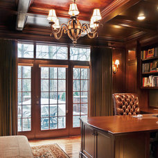 Traditional Home Office by Jeffrey King Interiors