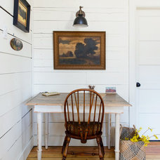 Traditional Home Office by Sarah Phipps Design